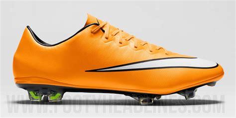 Nike Mercurial Vapor X Laser Orange orange nike mercurial vapor x 14 15 boot released footy