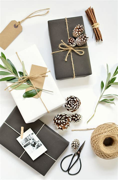 diy 5 gift wrap ideas for christmas burkatron