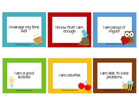 card for children free affirmation cards for affirmation cards