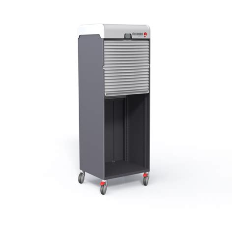 Roller Shutters For Cupboards cabinet with motorised roller shutter