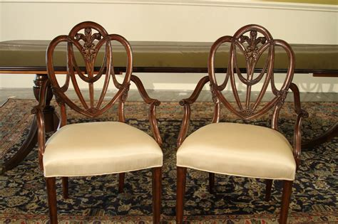 shield back dining room chairs mahogany sweet heart shield back dining chairs