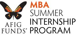 Summer Programs For Md Mba by Internships Afig Funds
