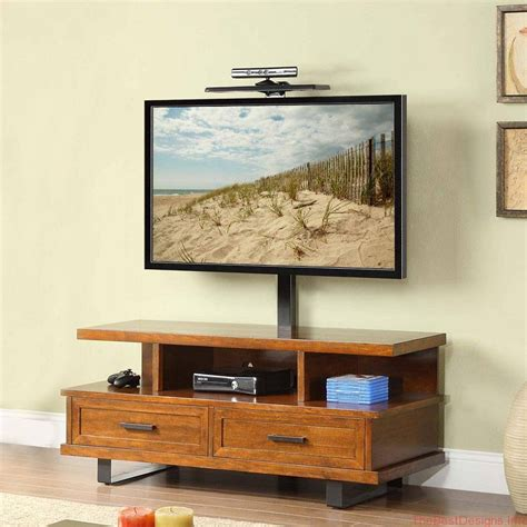 light wood tv stand best 15 of light oak tv stands flat screen