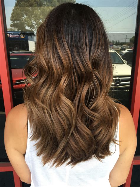 medium balyage hairstyles image result for balayage medium brown hair hair