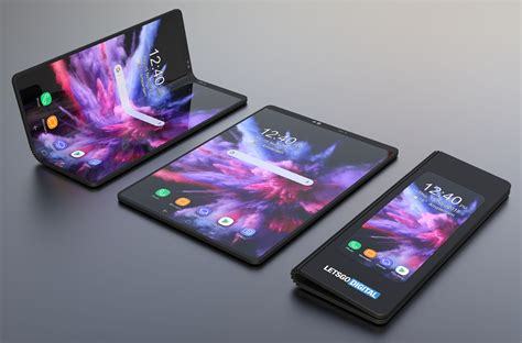 samsungs foldable smartphone  infinity flex display concept design sparks  imagination