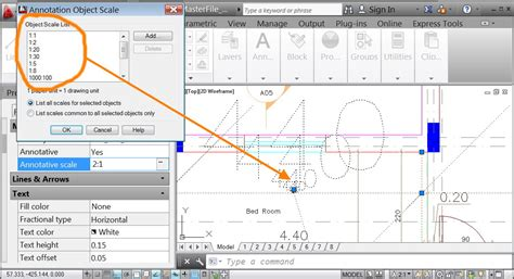 autocad tutorial using annotation scaling solved showing annotation objects autodesk community