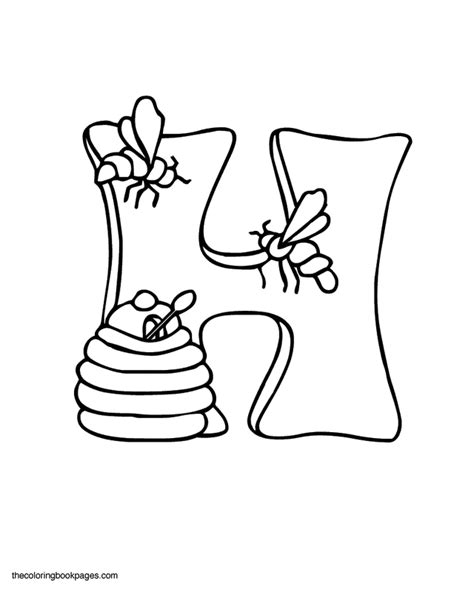 Chevron Letter H Coloring Page Coloring Pages H Coloring Page