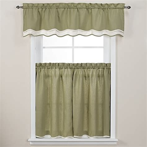 45 inch tier curtains buy pipeline 45 inch window curtain tier pair in sage from