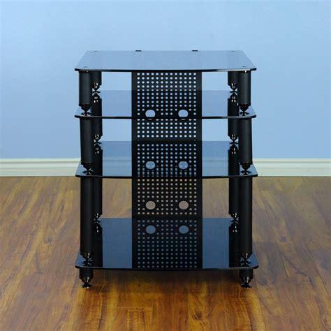 Vti Audio Rack by Vti 36000 Series Professional Audio Rack Black Poles Black