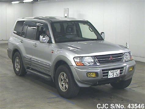 1999 mitsubishi pajero silver for sale stock no 43546