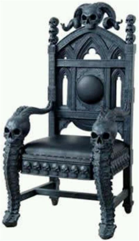 Victorian Gothic Furniture skull chair skull mania interiors pinterest