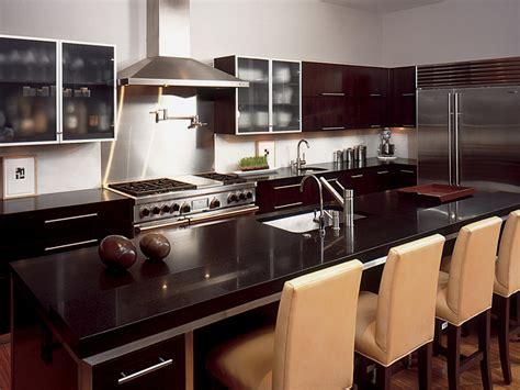 dark countertop color ideas kitchen designs choose kitchen layouts remodeling materials hgtv