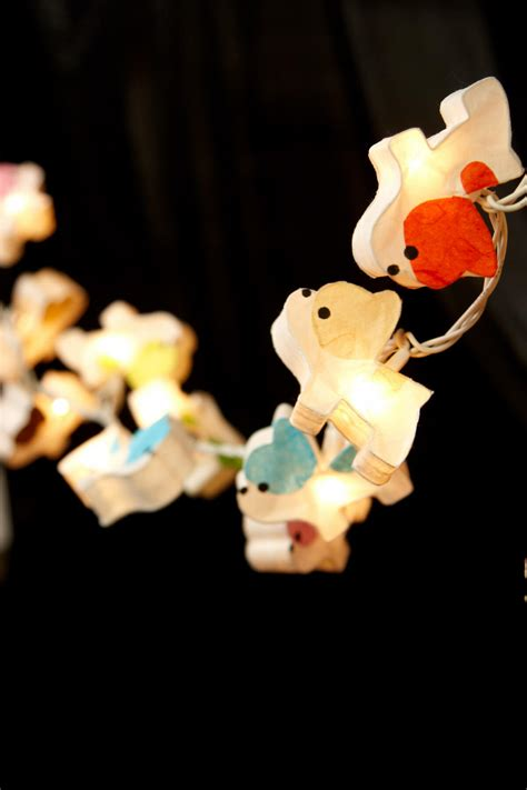 20 light string puppy string lights 20 lights