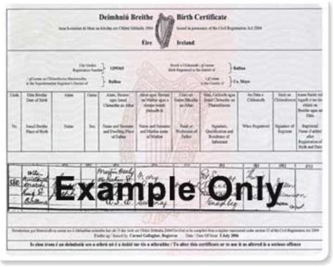 Birth Records In Ireland County Donegal Ireland Birth Records Images