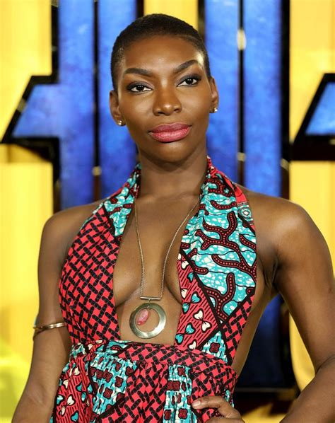 michaela coel email michaela coel sewed her dress for black panther premiere