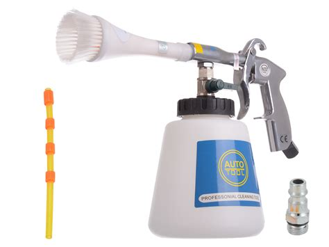 tornado upholstery cleaner air cleaning gun tornado effect with brush for car