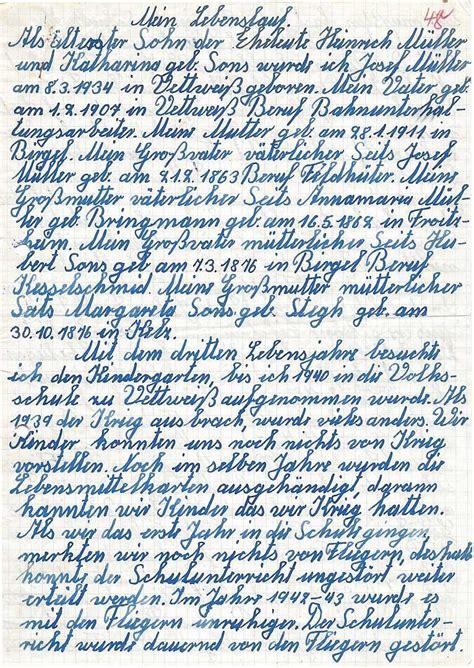 Lebenslauf Vorlage Handschriftlich Handschriftlicher Lebenslauf Muster Kostenlose Anwendung Die Vorlage Zu Studieren