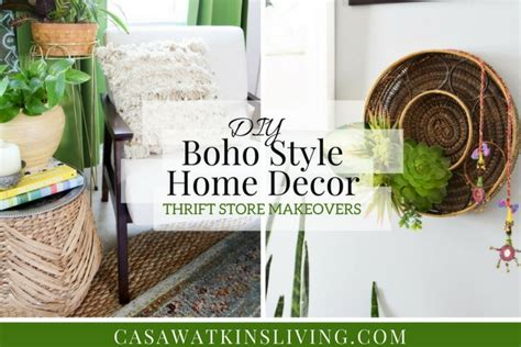 diy boho style home decor tutorial casa watkins