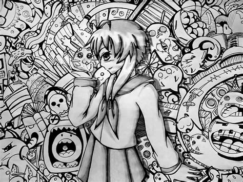 doodle 4 animation anime and doodle collaboration by athenanoza on deviantart