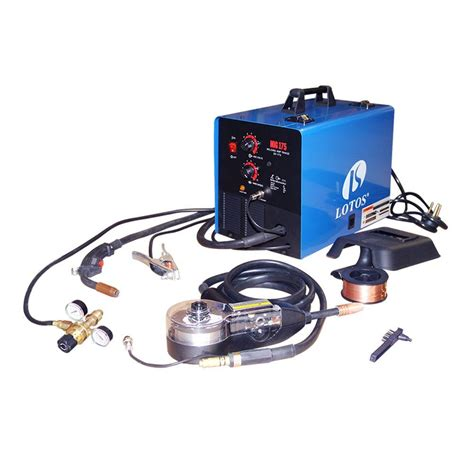 lotos 175 mig welder with spool gun mig175 the home
