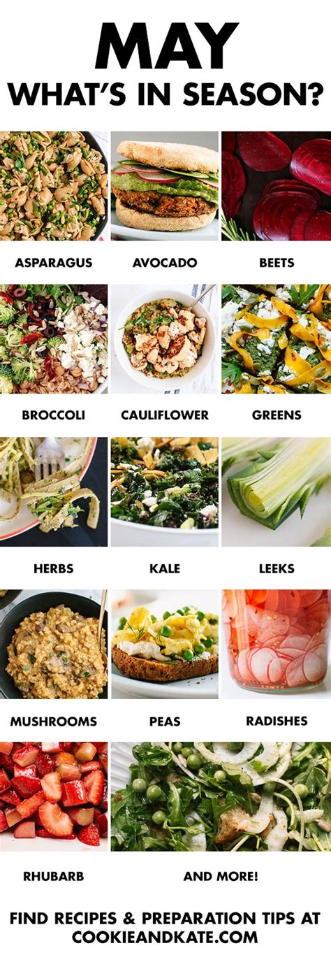 vegetables in season what s in season may produce guide recipes food and