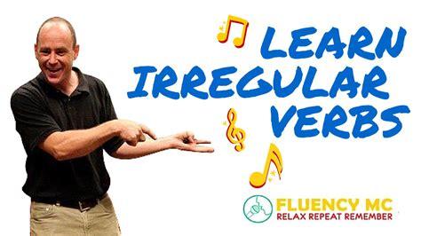 rag doll verb learn and speak irregular verbs grammar rap song