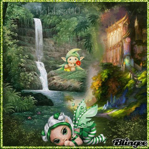 anime themes gnome the pixie dust blingsters new theme forest fairies with