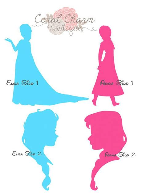 Susan Delise Also Search For Frozen Elsa File For Silhouette By Coralcharmboutique On Etsy All About The
