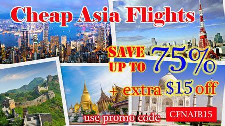 asia flights