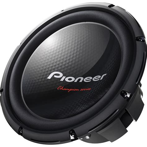 Speaker Subwoofer 12 Inch pioneer ts w310d4 12 quot inch 1400w subwoofer car audio sub bass speaker woofer ebay