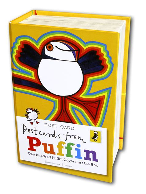 the puffin book of postcards from puffin 100 covers in one box penguin books australia