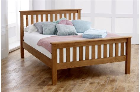 High End Futon Beds by Malvern High End Bed Frame In Oak Birlea