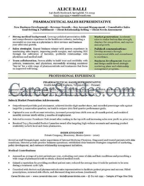 pharmaceutical resume service run by a nationally certified resume writer