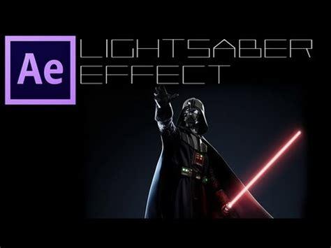 tutorial after effect laser tutorial after effects lightsaber effect spada laser
