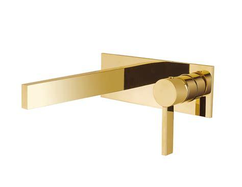 Luxury Wall Mount Bathroom Faucet Caso Polished Gold Polished Gold Bathroom Faucets