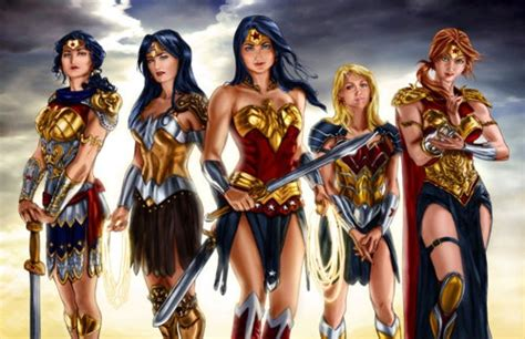 amazon wonder woman hippolyta donna troy wonder woman wonder girl and