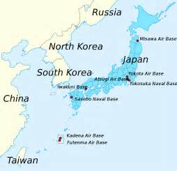 us bases in japan map