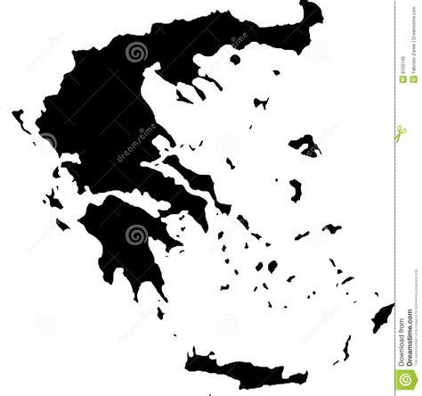 greece map vector vector map of greece stock vector image of land europe