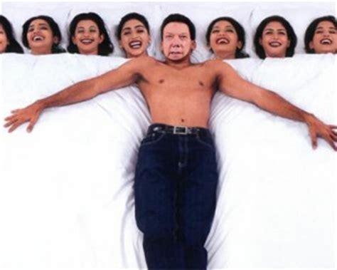 imagenes mujeres y hombres en la cama fotomontaje hombre mujeriego con muchas mujeres en la cama