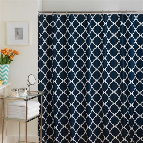 blue chevron shower curtain best 25 navy blue shower curtain ideas on pinterest