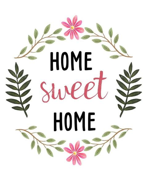 home sweet home decoration sweetdailiness free home sweet home printable