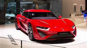 Electric Car Horsepower Electric Car Is Salt Water Powered 1000 Hp Quant F