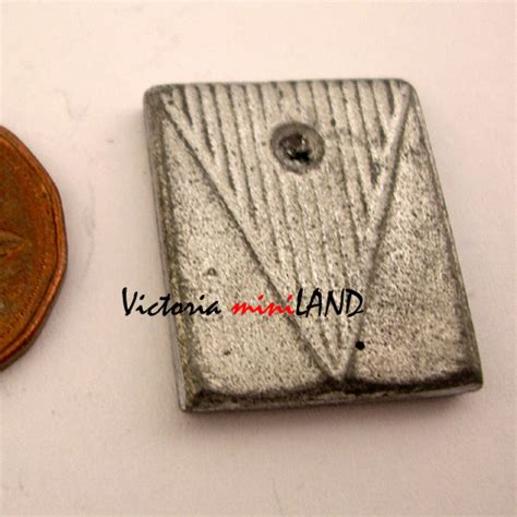 Do It Yourself Miniature bathroom scale 7 8 quot l unfinished diy metal miniature for dollhouse do it yourself