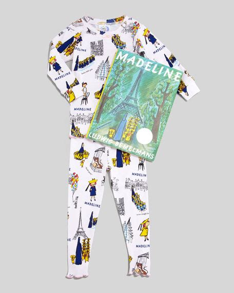books to bed books to bed madeline pajamas and book set sizes 8 10