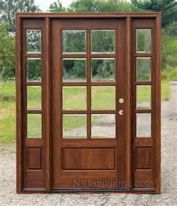 Where To Buy Exterior Doors Exterior Doors With Sidelights Solid Mahogany Entry Doors