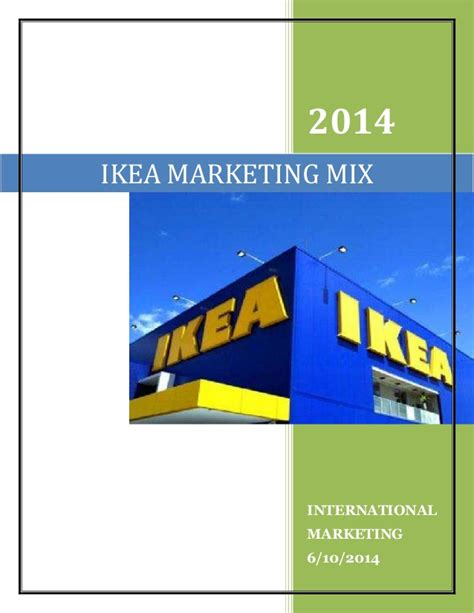 upcoming ikea sales comparison of marketing mix of ikea in four countries