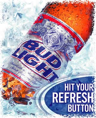 what does bud light taste like top 10 new slogans for ab inbev s allegedly watered down