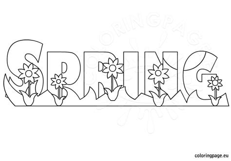 dulemba coloring page tuesday welcome spring coloring