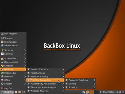 tutorial linux backbox backbox linux indonesian backtrack team