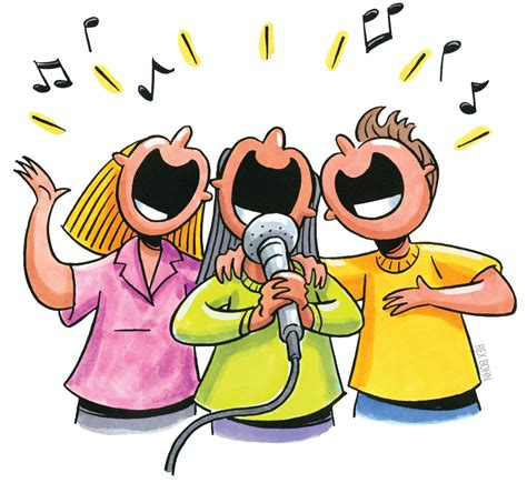 sing swing sing up up with people just sing